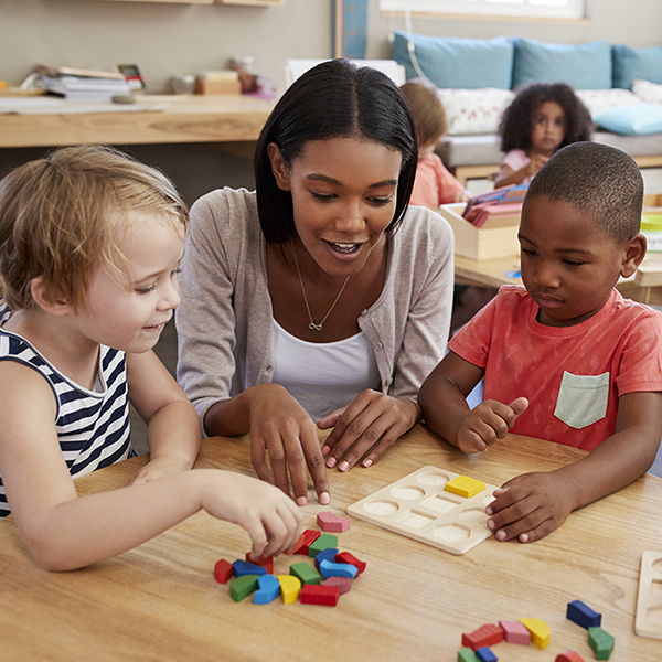 Pre-K Montessori Small Group Learning